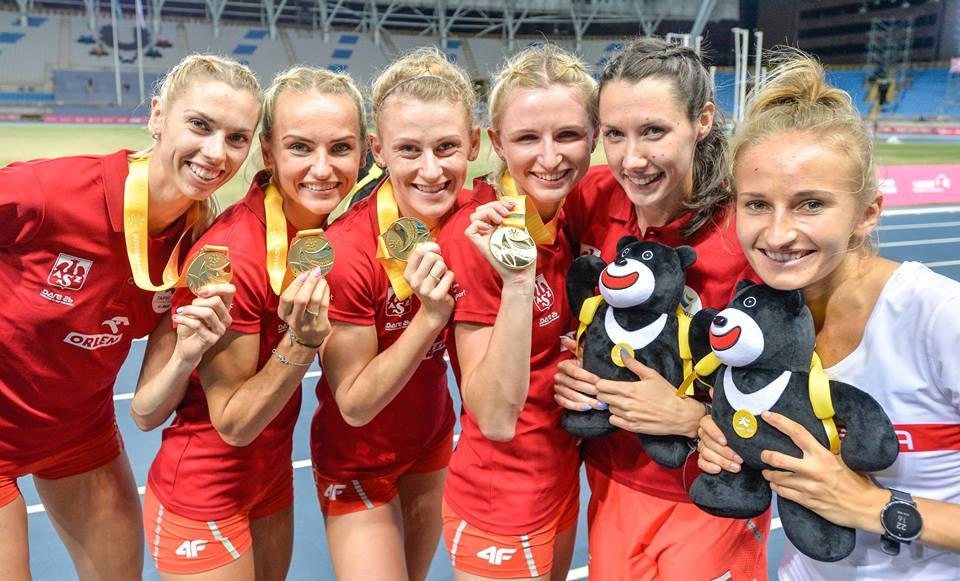 25 medali naszej ekipy na Letniej Uniwersjadzie w Tajpej!
