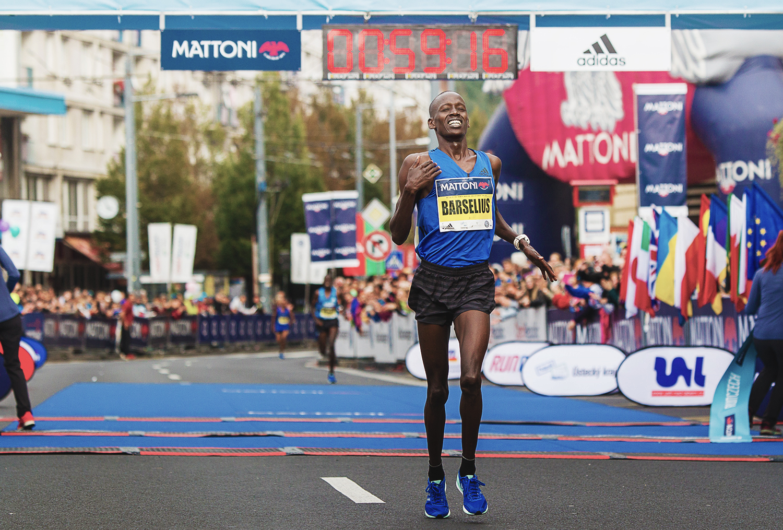 Szybko na  Mattoni Ústí nad Labem Half Marathon