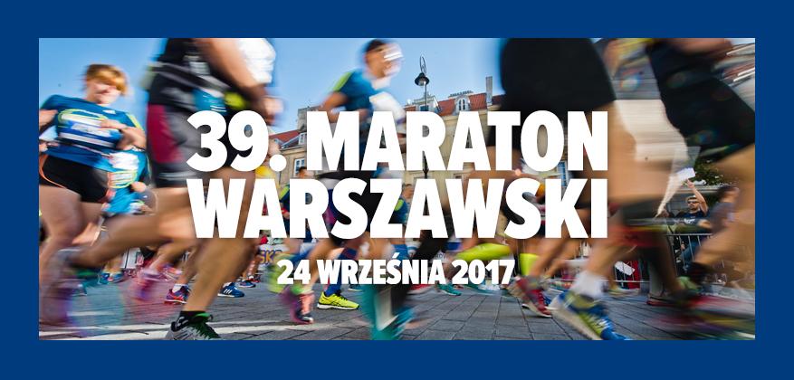 Błażej Brzeziński zwyciężył w warszawskim maratonie. Ewa Jagielska trzecia.