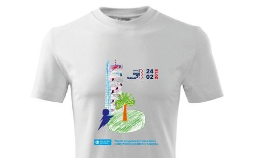 Wyjątkowa koszulka dla uczestników VIII Biegu Na Szczyt Rondo 1