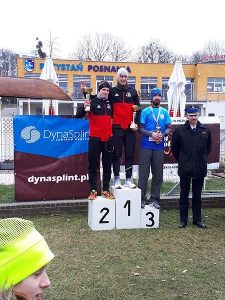 Strażacy rywalizowali w I Zimowych Mistrzostwach Wielkopolski PSP i OSP na 5 km