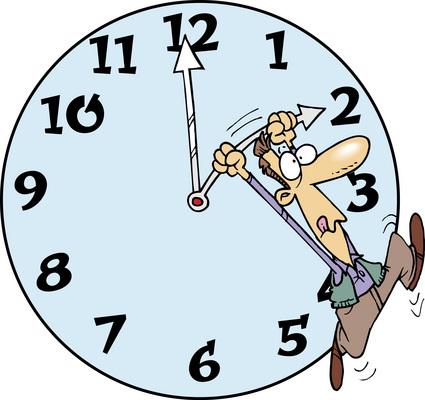 Zmiana czasu na letni! Nie zaśpijcie na zawody!