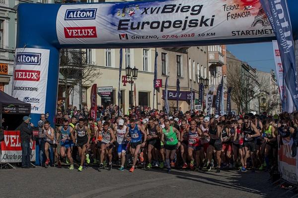 Nasz Patronat. XVI Bieg Europejski w Gnieźnie z rekordem frekwencji!