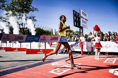 ORLEN Warsaw Marathon błysnął w słońcu