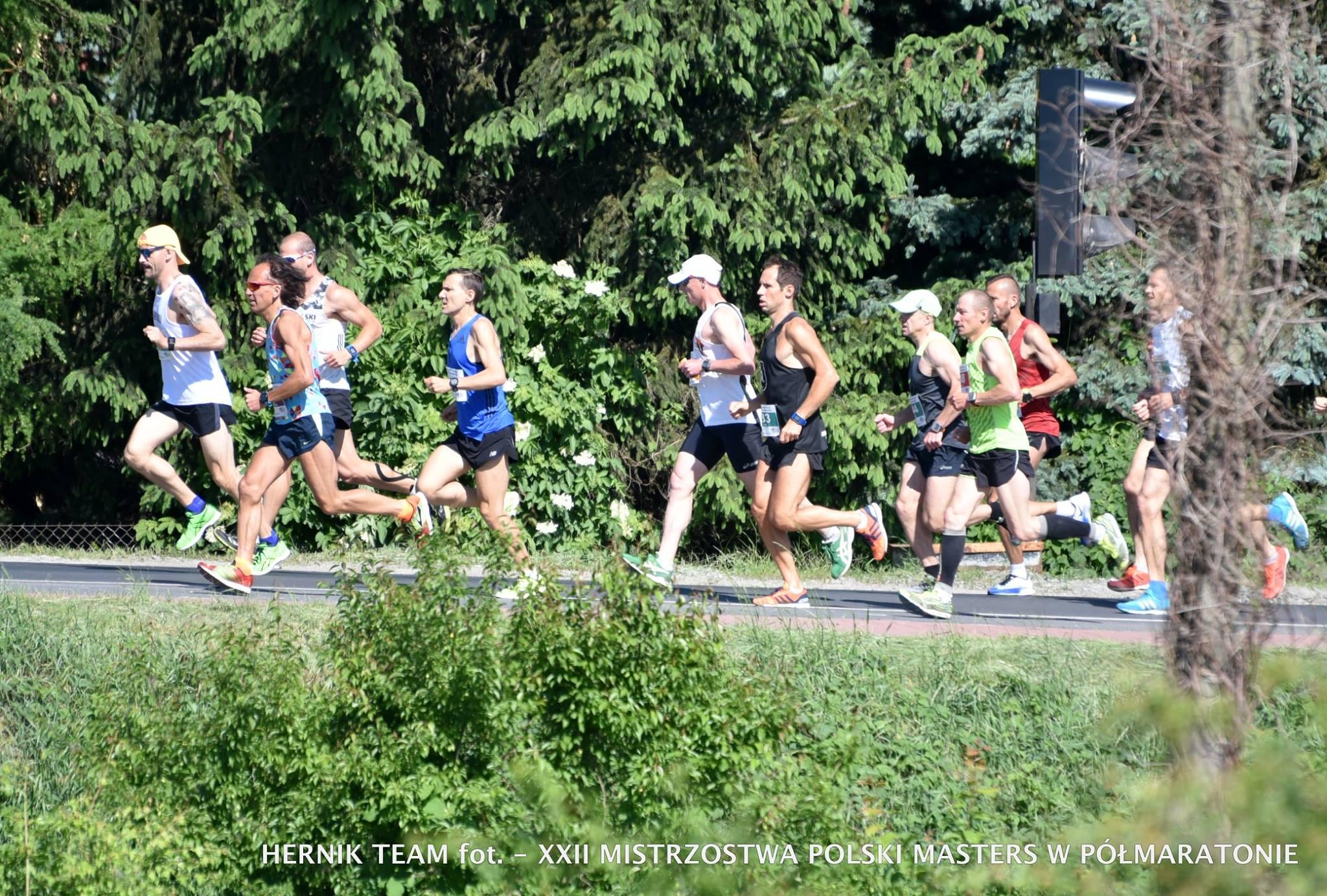 Nasz Patronat. Pokoleniowe XXII Mistrzostwa Polski Masters w Półmaratonie
