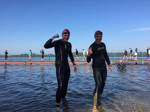 Prawie  2 tysiące zawodników na starcie JBL Triathlon Sieraków!