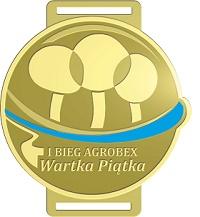 Nasz Patronat. Prezentujemy medal I Biegu Agrobex Wartka Piątka w Poznaniu