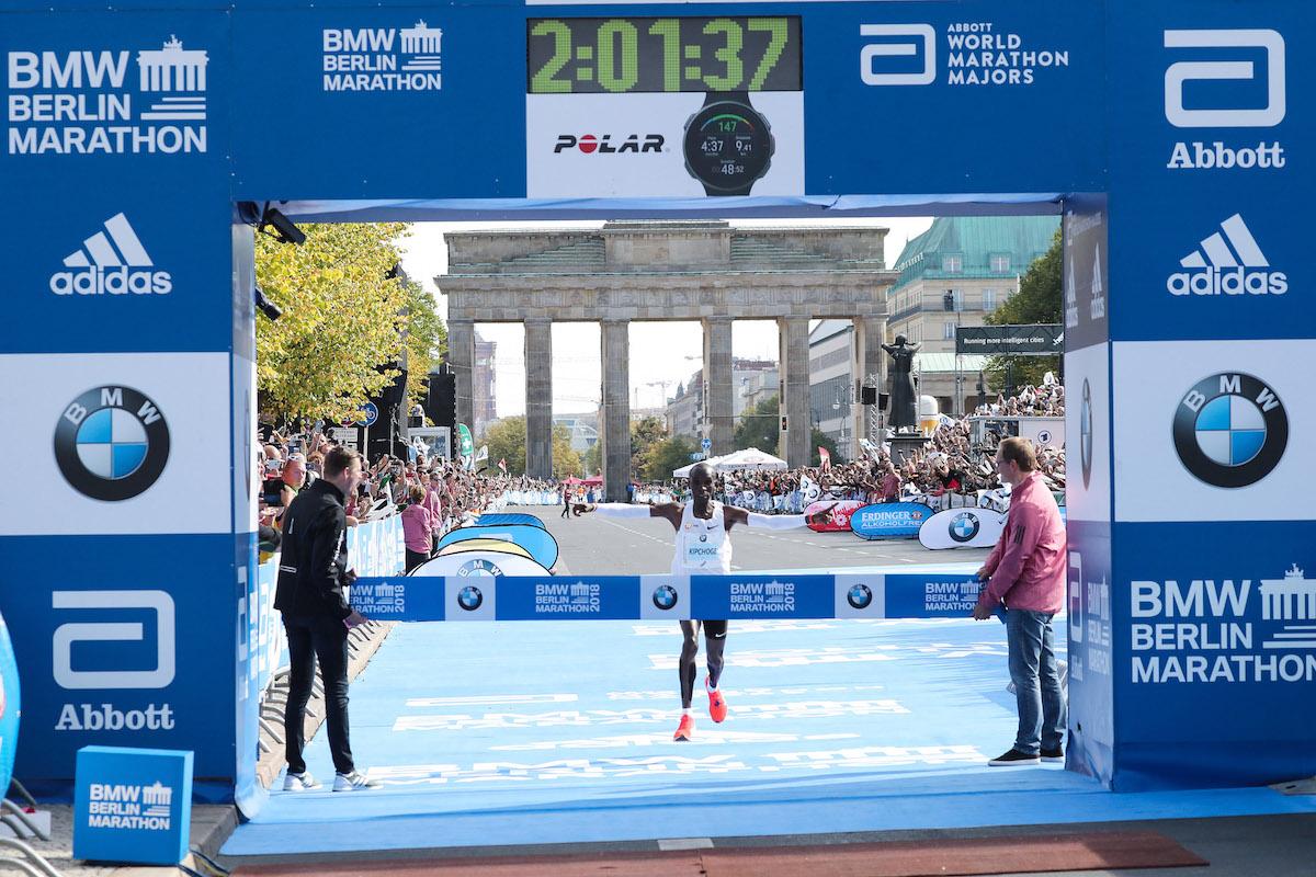 45.BMW BERLIN-MARATHON. Rekord świata w Berlinie! Eliud Kipchoge:2:01:39 !!!