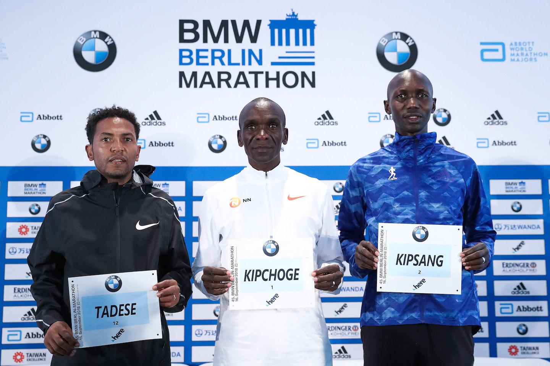 45. BMW BERLIN-MARATHON. Pojedynek na szczycie: Eliud Kipchoge vs. Wilson Kipsang Kiprotich