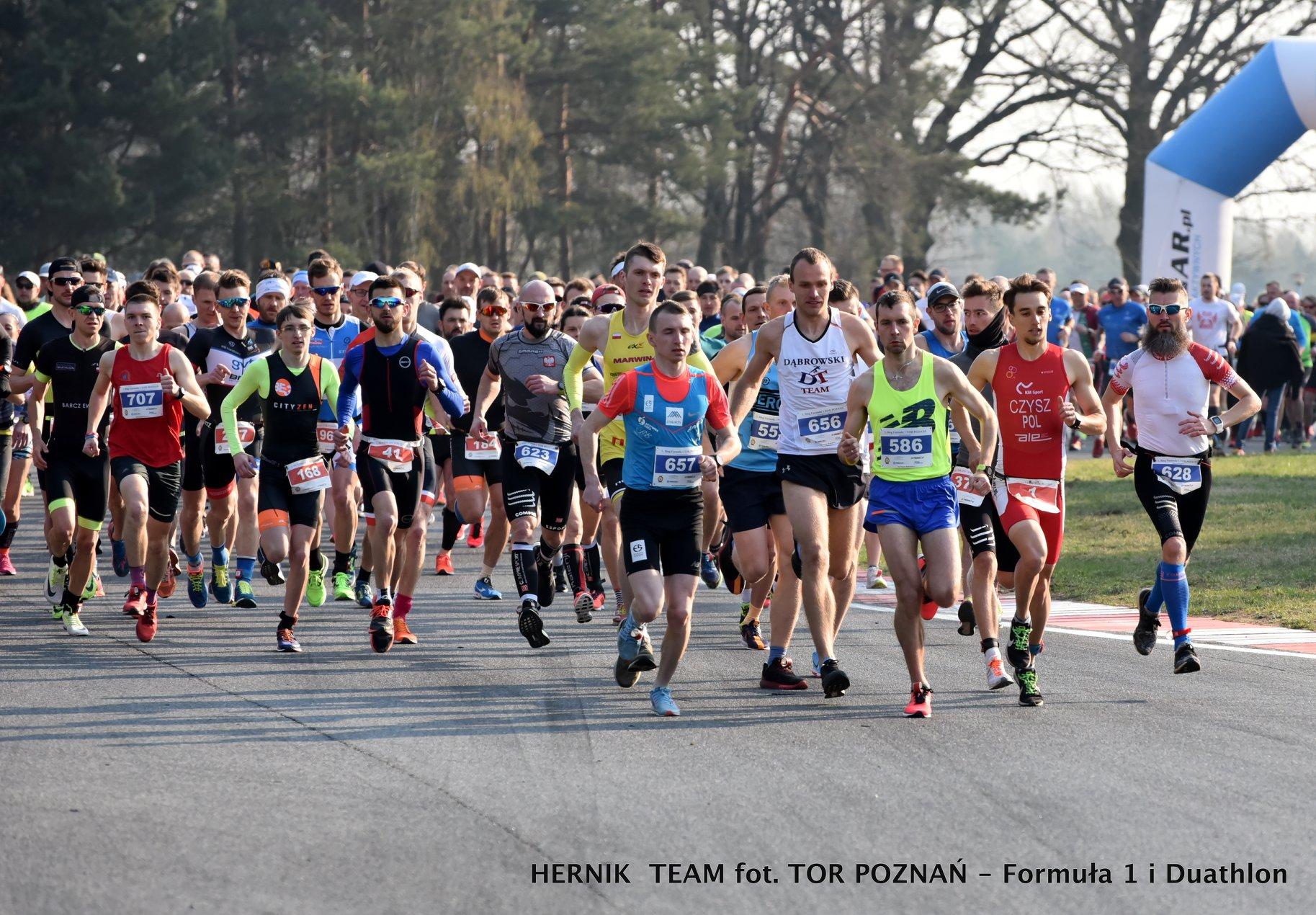 Nasz Patronat. Prezentujemy medal 7. Biegu Tor Poznań Formuła 1 #wyścigowapiątka