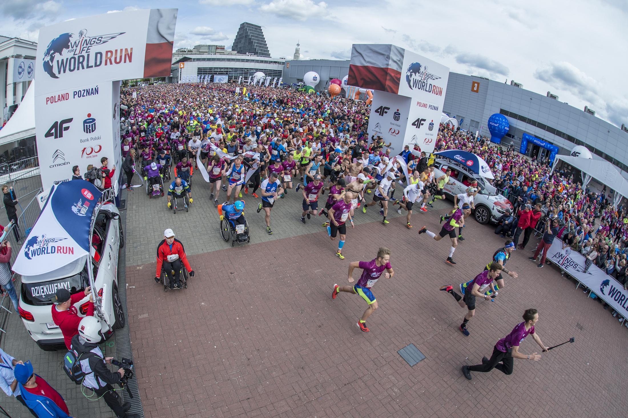 Wings for Life World Run: Polacy zwyciężyli nie tylko w Poznaniu!