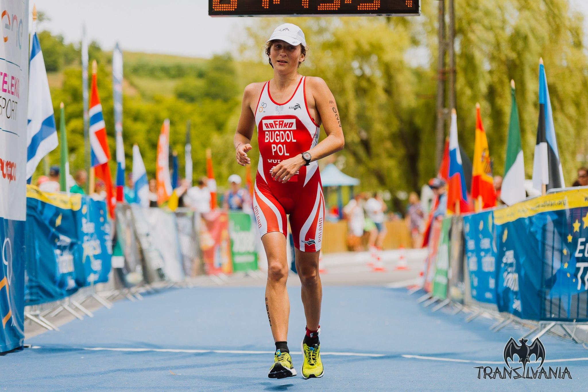 Ewa Bugdoł Wicemistrzynią Europy w triathlonie na dystansie średnim!