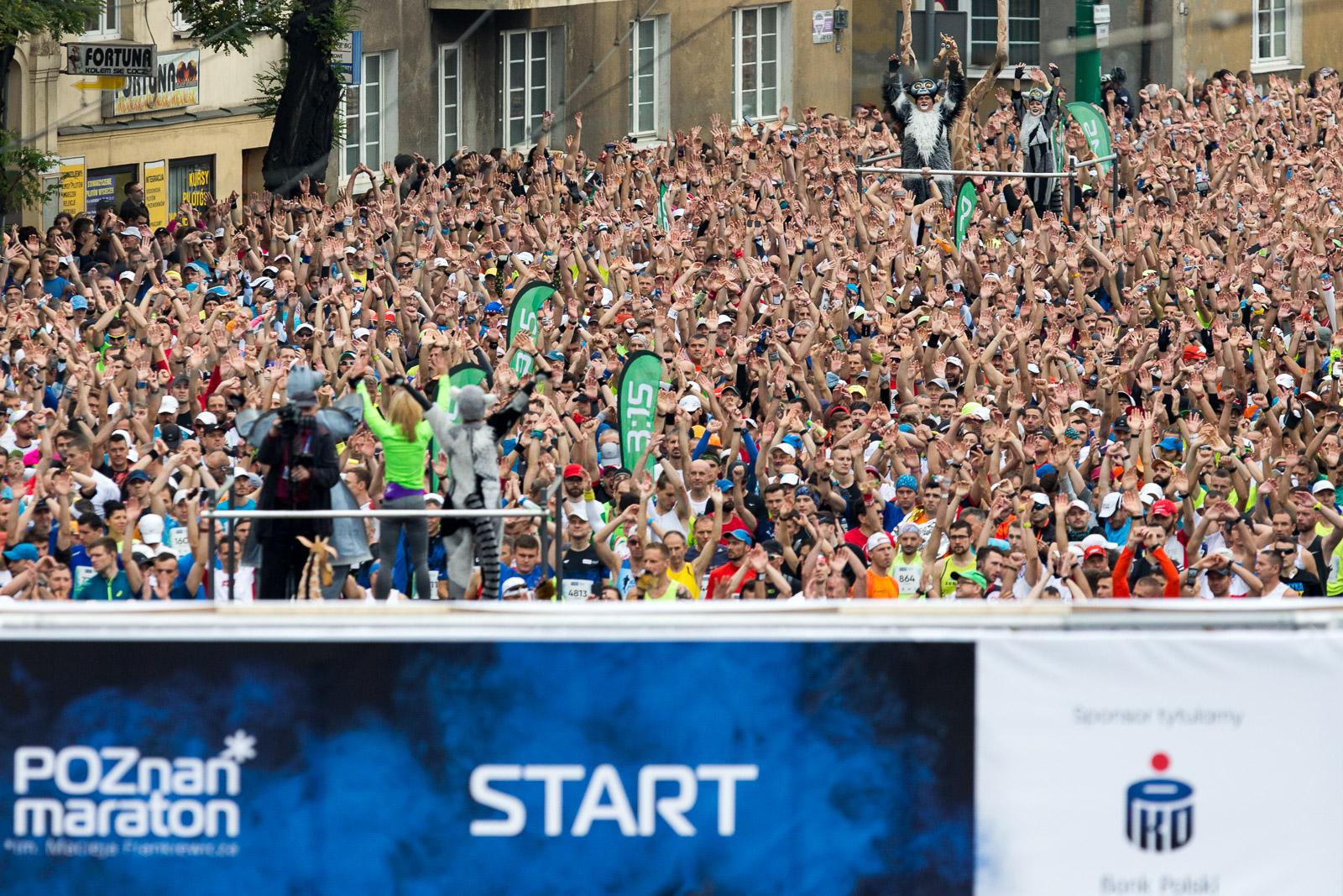 20. PKO Poznań Maraton. Sentymentalny powrót nad Maltę!