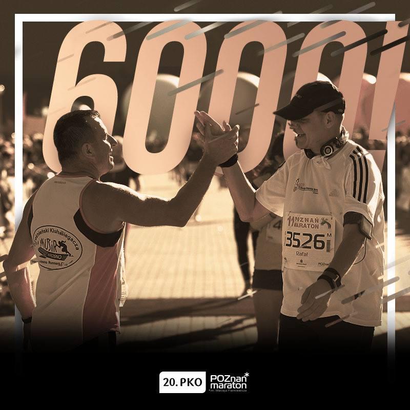 20. PKO Poznań Maraton. 6000 +300+200