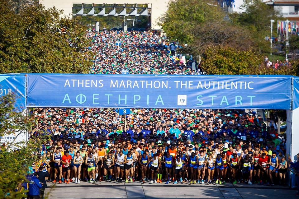 Biegaj i Zwiedzaj. Athens Marathon. The Authentic i festiwal biegania przyciągnął ponad 60 tys. osób ze 120 krajów!