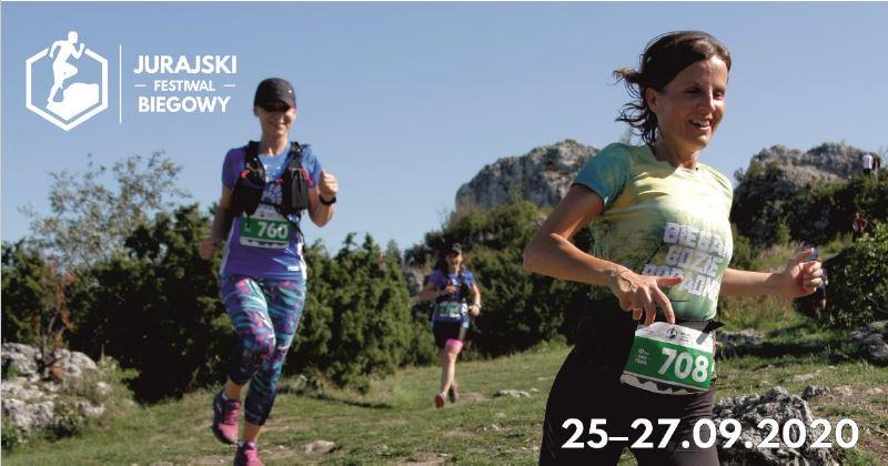 Nasz Patronat. Zapraszamy w dniach 25–27 września 2020 r. na Jurajski Festiwal Biegowy. Do wyboru siedem tras!