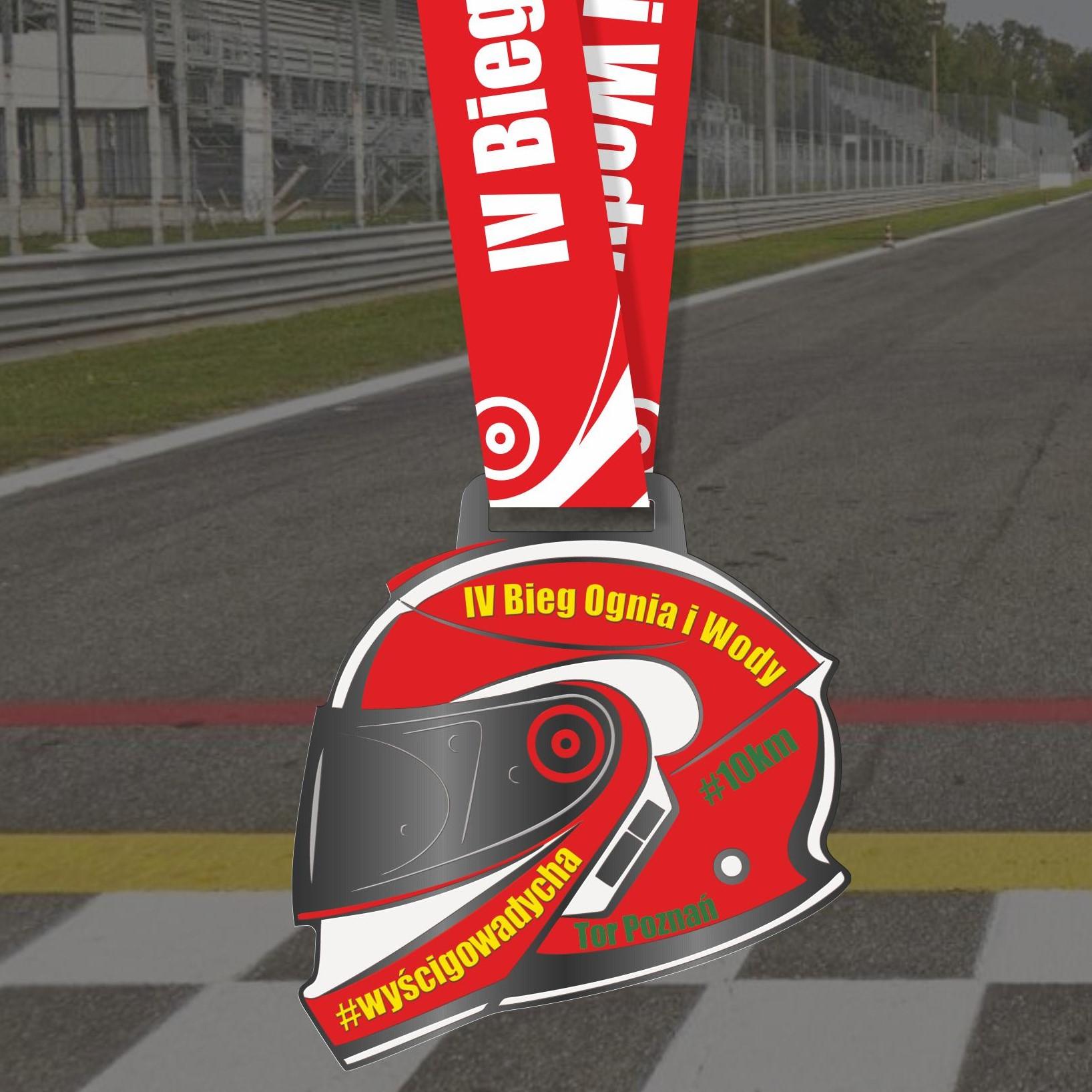 Nasz Patronat. Prezentujemy medal IV Biegu Ognia i Wody #wyścigowadycha