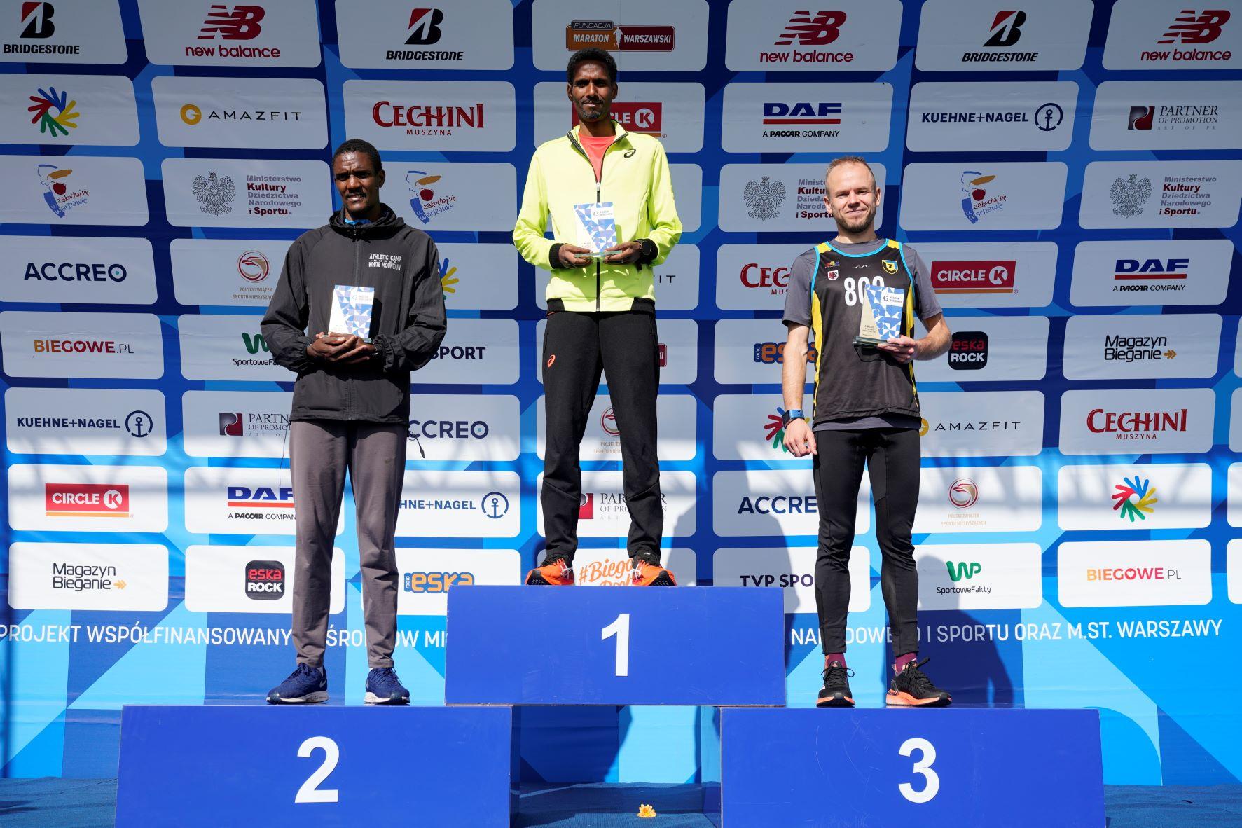 Yared Shegumo i Monika Andrzejczak zwyciężyli w warszawskim maratonie!