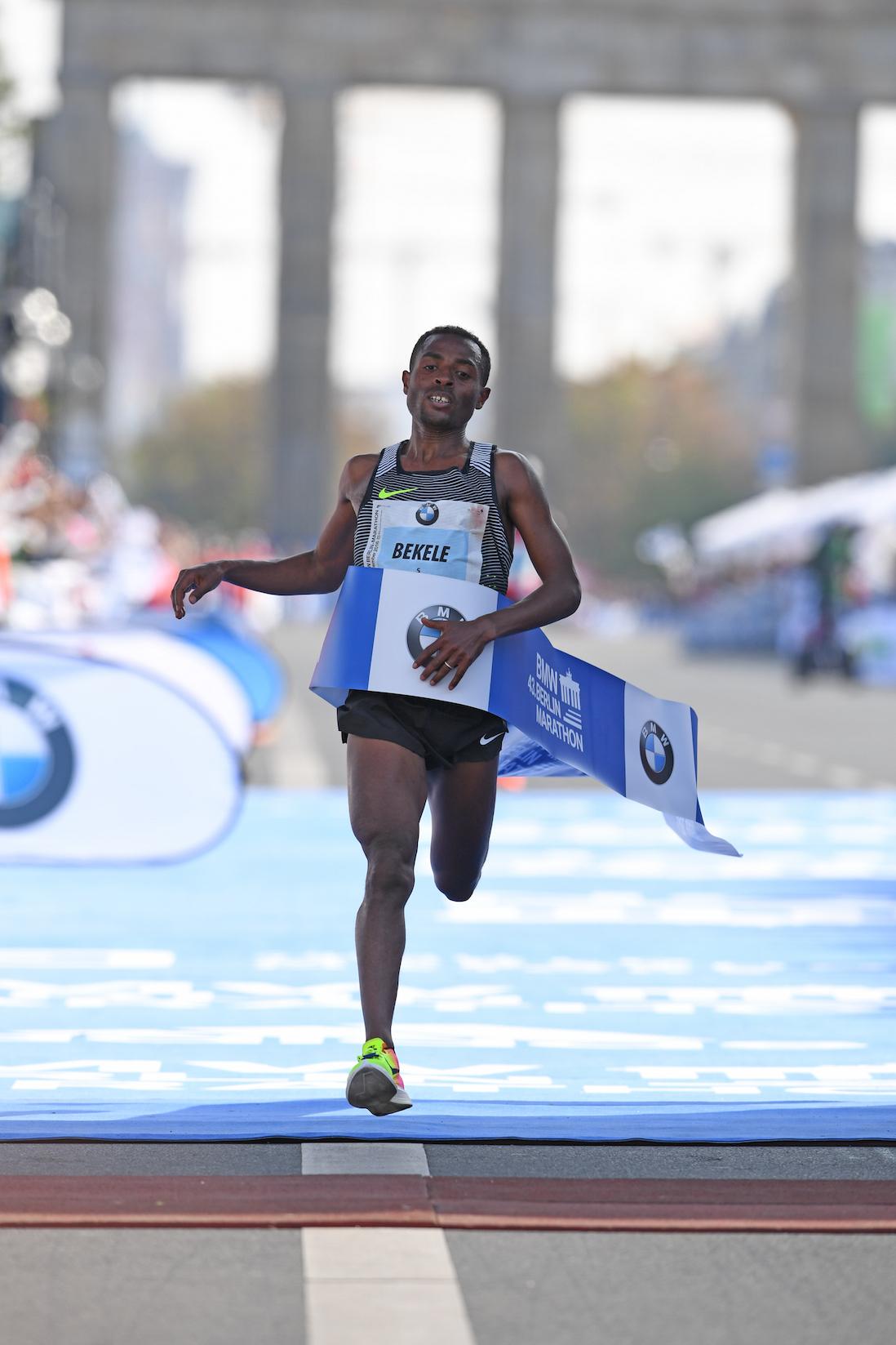BMW Berlin-Marathon. Kipchoge: to był mój najcięższy maraton w życiu!