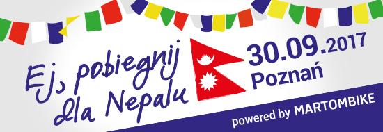 """""""Ej, pobiegnij dla Nepalu!"""""""