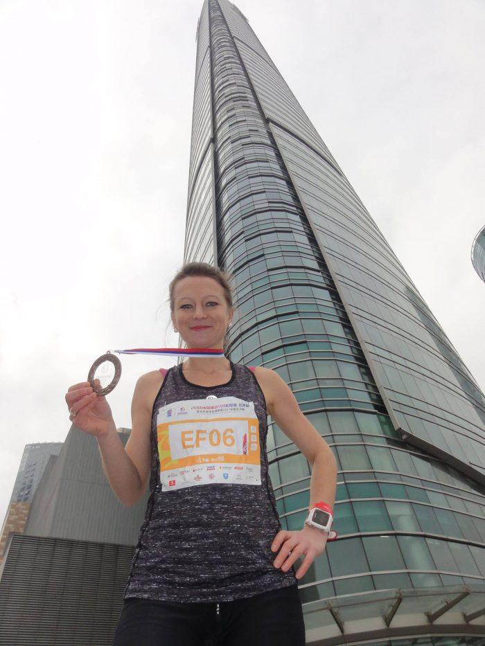 Dominika Wiśniewska – Ulfik w finale biegu po schodach w Chinach!