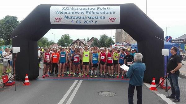 Nasz Patronat. XXII Mistrzostwa Polski Masters w Półmaratonie w Murowanej Goślinie