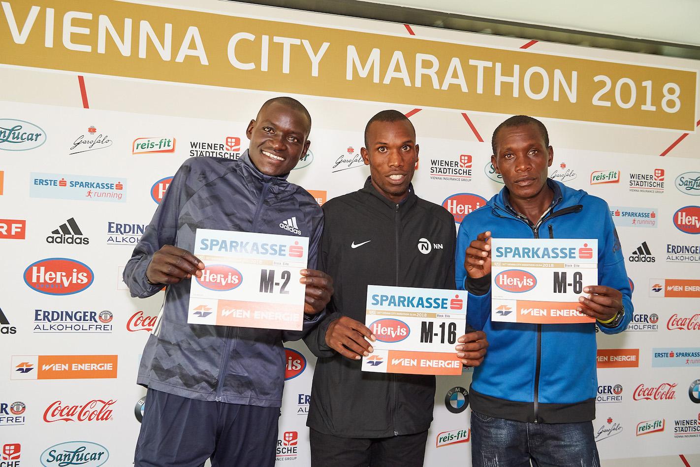 Rekordzista świata Dennis Kimetto zaatakuje rekord w Vienna City Marathon