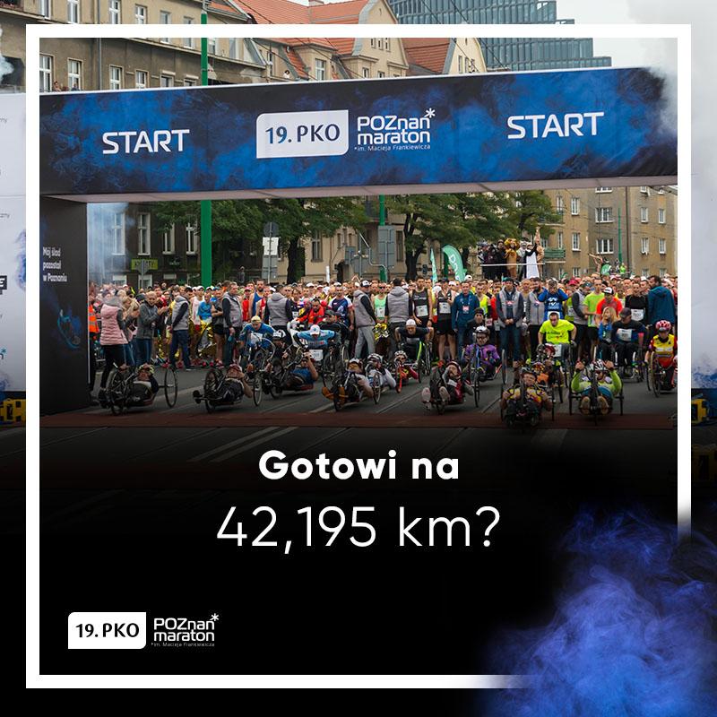 Wzrosła pula nagród w 19.PKO Poznań Maraton!