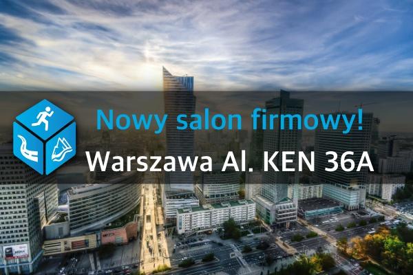 Nasz Patronat. Nowy salon TRIGAR.PL w Warszawie już działa!