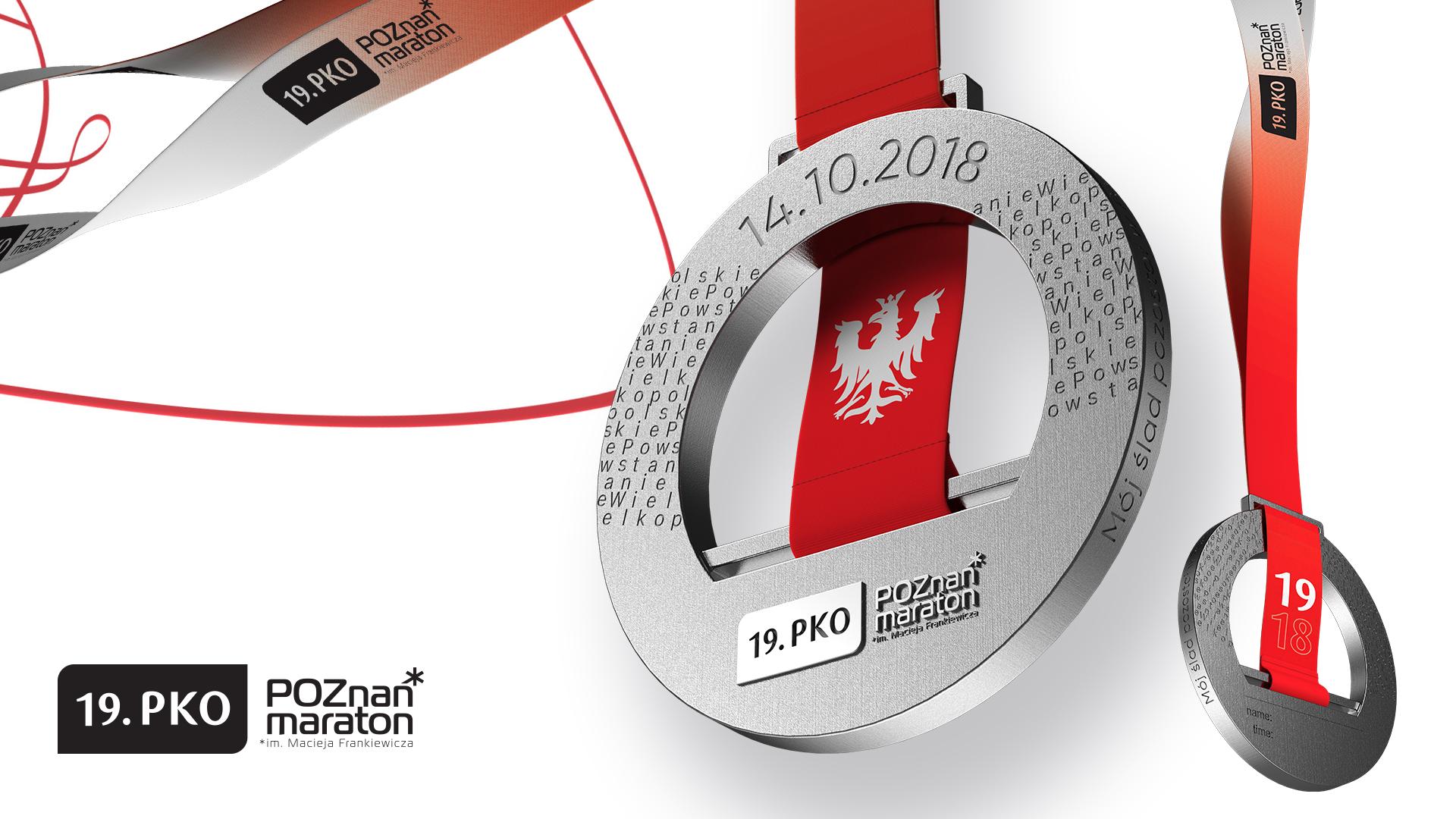 Medal poznańskiego maratonu inspirowany Powstaniem Wielkopolskim