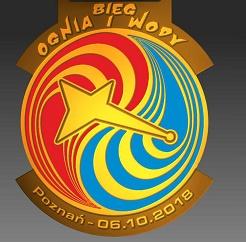 Bieg Ognia i Wody #wyścigowa dycha. Tak prezentuje się medal!
