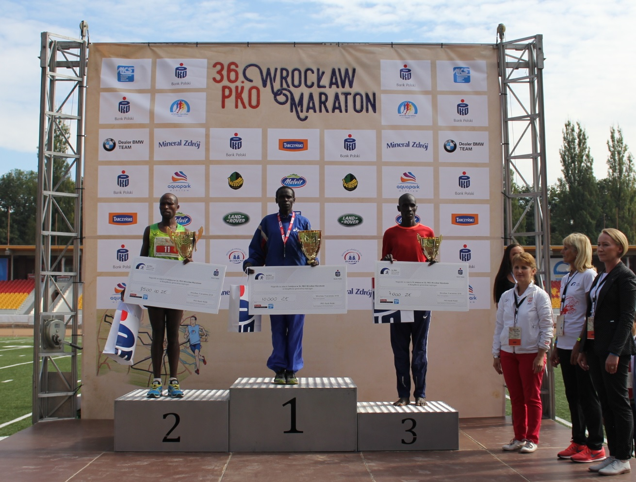 36. Wrocław Maraton po drodze do Korony Maratonów Polski