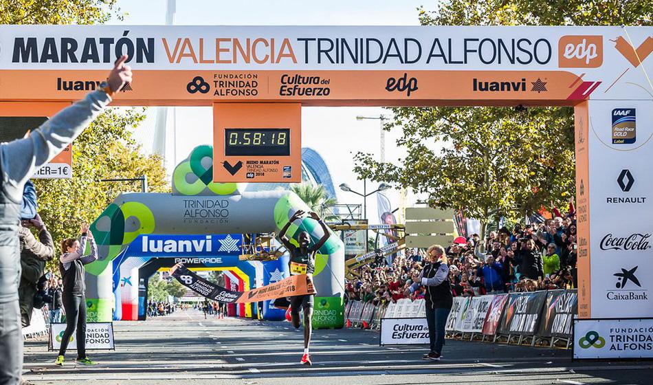 Nowy rekord świata w półmaratonie padł w Walencji!