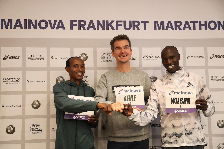 Najszybsza czołówka w 37- letniej historii  Mainova Frankfurt Marathon