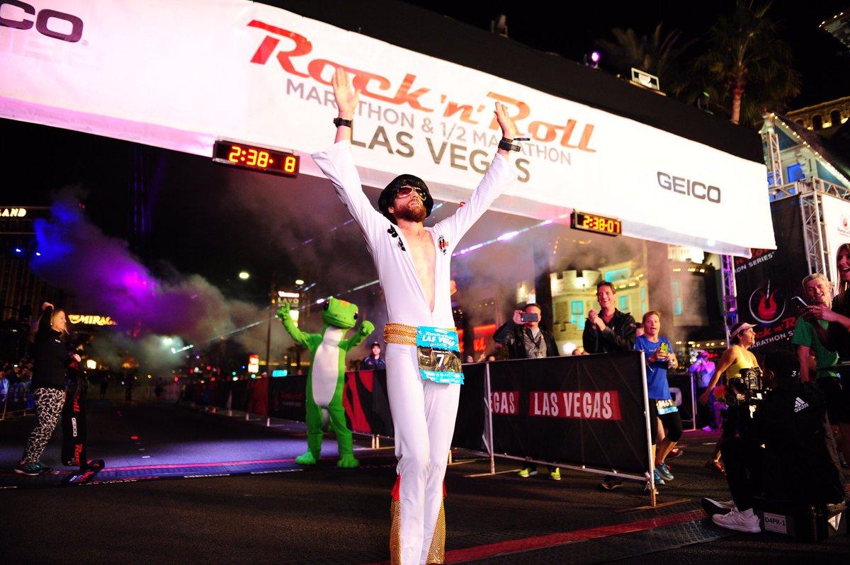 Elvis wiecznie w biegu!