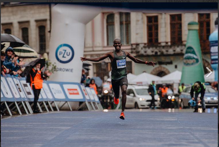 18. PZU Cracovia Maraton. Kenijczyk Cyprian Kotut i Ukrainka Wiktoria Khapilina ustanowili rekordy trasy!
