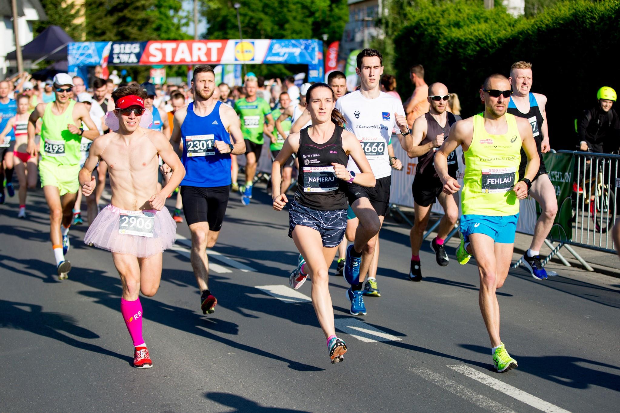 Bieg Lwa nie tylko na dystansie półmaratonu!