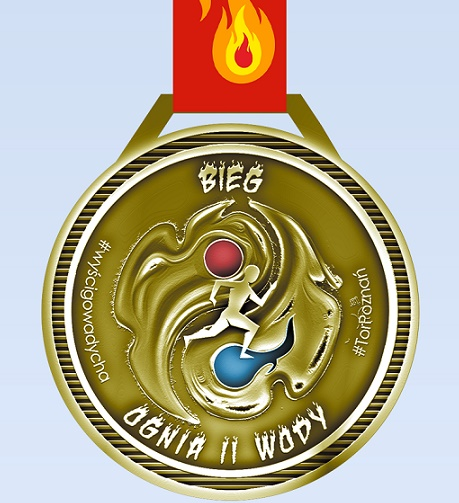 Nasz Patronat. Prezentujemy medal II Biegu Ognia i Wody!