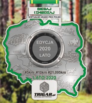 Nasz Patronat. Letnie Grand Prix Polski Biegaj i Zwiedzaj #TRIGAR #ITAKA na dystansach 5 km, 10 km i półmaratonu!
