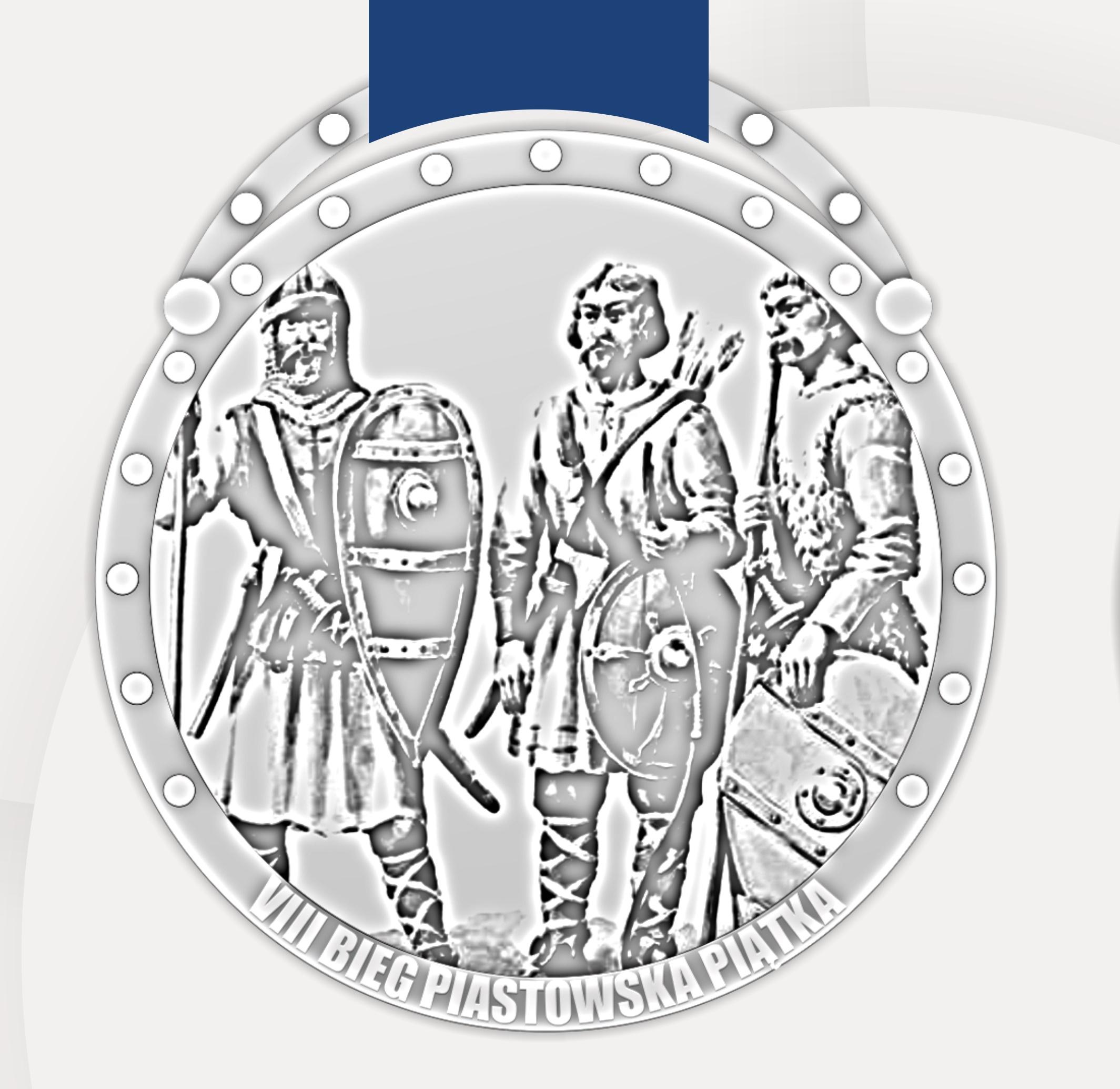 Nasz Patronat. Oryginalny medal VIII Biegu Agrobex Piastowska Piątka w Pobiedziskach!