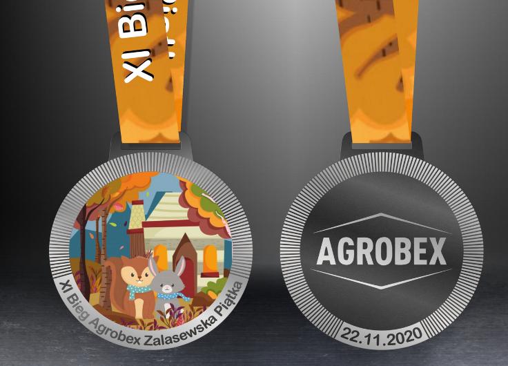 Nasz Patronat. XI Bieg Agrobex Zalasewska Piątka zakończył nasz sezon startowy! Czas na medale!